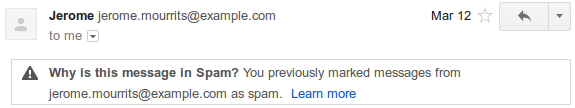 Google Mail Spam 2
